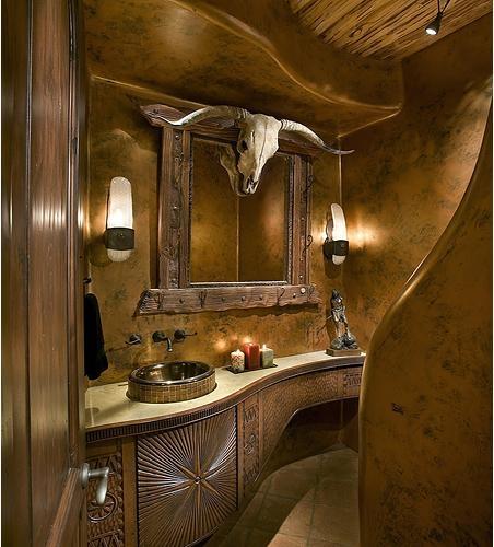 超小户型美式风格厕所
