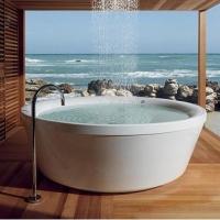 个性潮流海景别墅浴室设计装修效果图