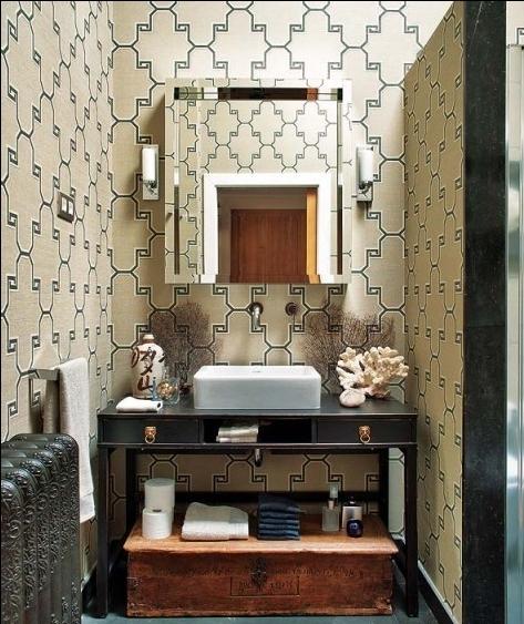 简约风格洗手间