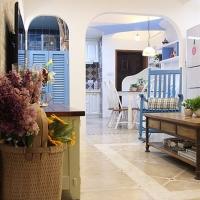 错层地中海两居室装修效果图