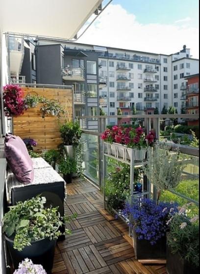 阳台花园装修效果图