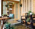 阳台花园设计打造田园风格装修效果图