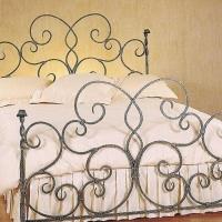 卧室家居流行元素铁艺家具装修效果图