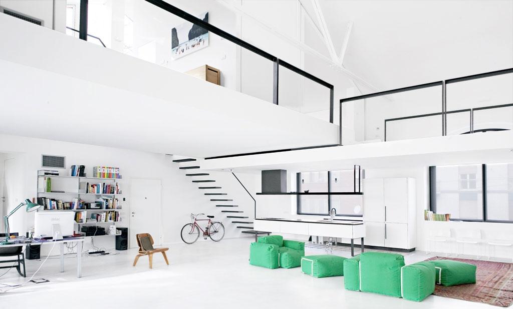 loft-loft办公设计装修效果图