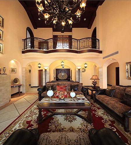 复式楼客厅设计图装修效果图