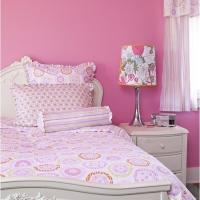 粉红主卧室设计图装修效果图
