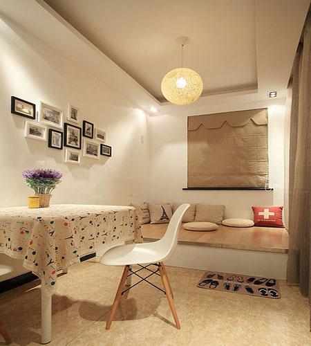 温馨卧室榻榻米设计装修效果图