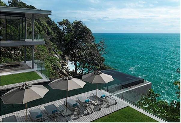 海景别墅的休闲区设计装修效果图