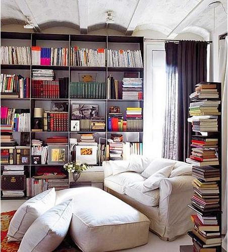 复式楼欧式风格书房