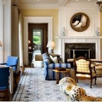 欧式风格奢华客厅装修效果图