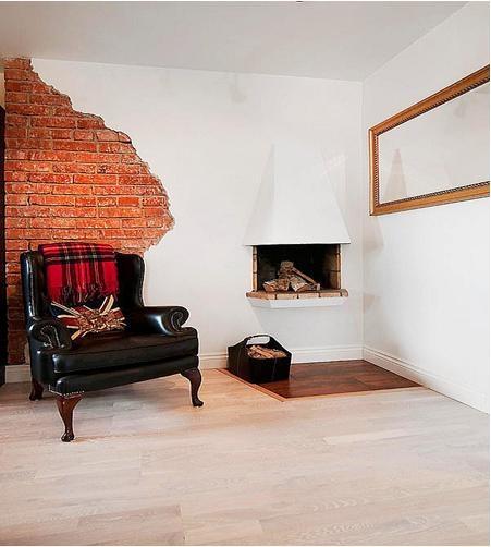一居室ArtDeco风格休闲区