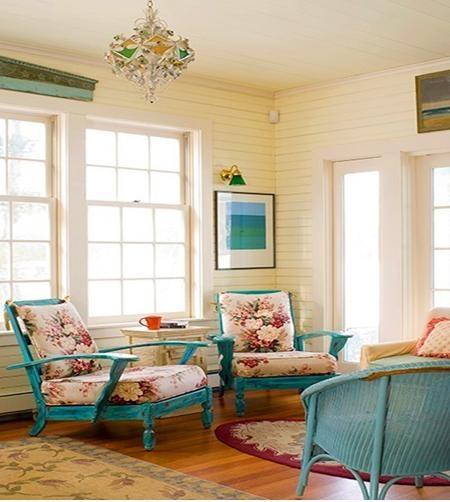 三室一厅简欧风格客厅