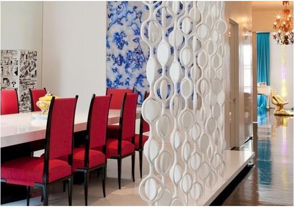 三室一厅现代风格客厅地台
