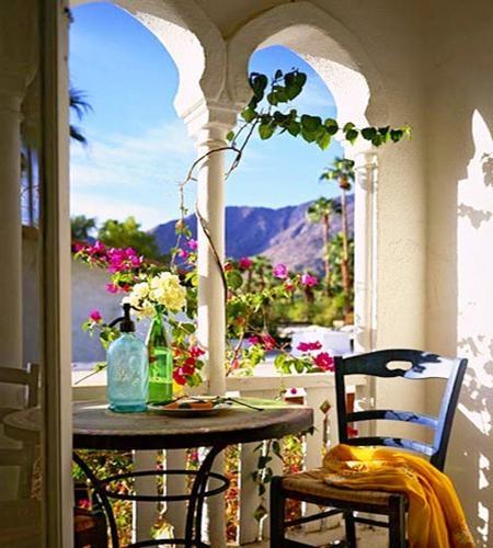 三居室巴洛克风格阳台花园