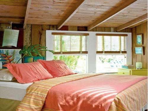 海景别墅哥特风格主卧室卧室背景墙