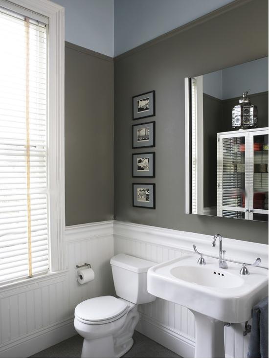 三室一厅现代风格厕所