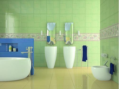 三室一厅地中海风格厕所