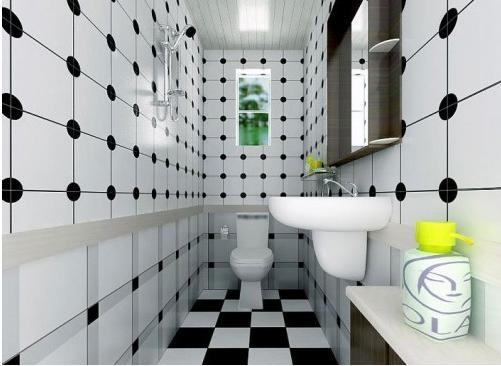 三室两厅时尚风格厕所