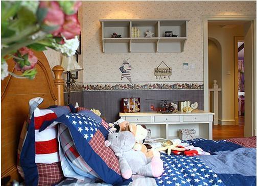 美式风格儿童房