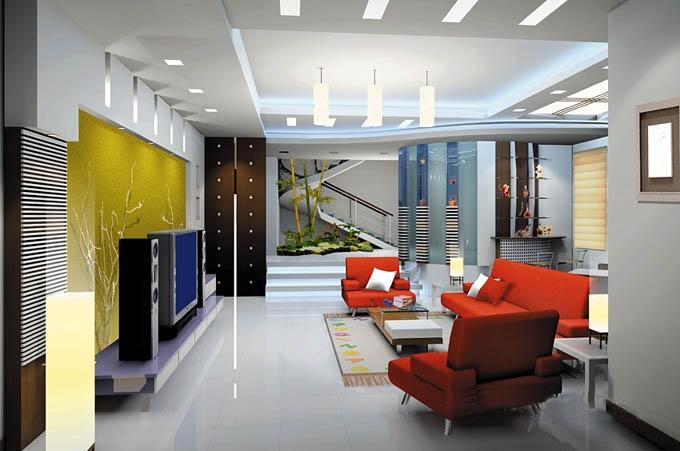 复式楼时尚风格客厅