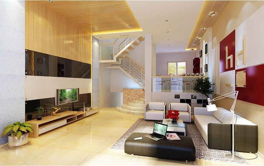 复式楼现代简约客厅_客厅现代简约风格客厅