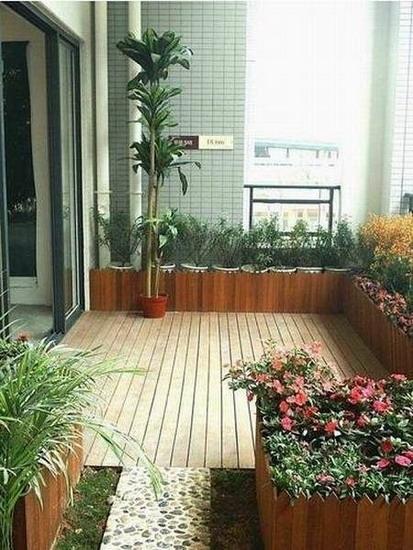 现代简约阳台
