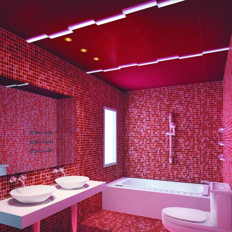 现代简约洗手间