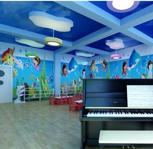 海洋世界 幼儿园环境布置图片_装修效果图-x团装修网