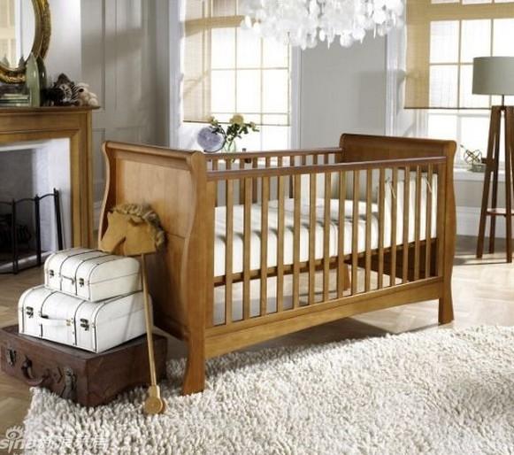 简约大方的婴儿房装修效果图