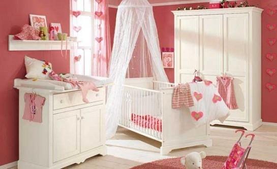 韩式风格婴儿房