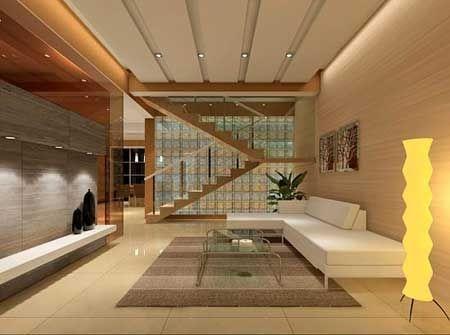 客厅带楼梯装修效果图
