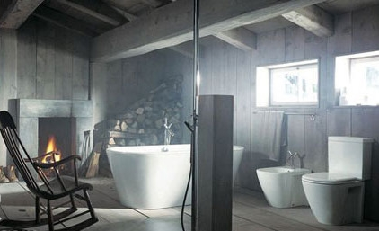 古典风格洗手间