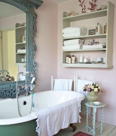 欧式风格洗手间
