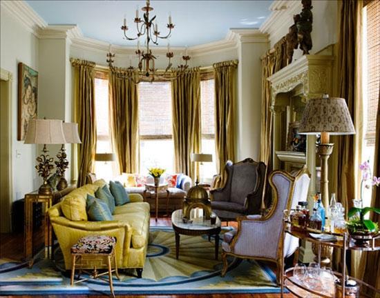 3款田园风格飘窗窗帘创意设计