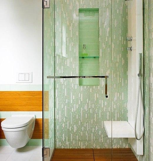清凉绿意卫浴装修效果图