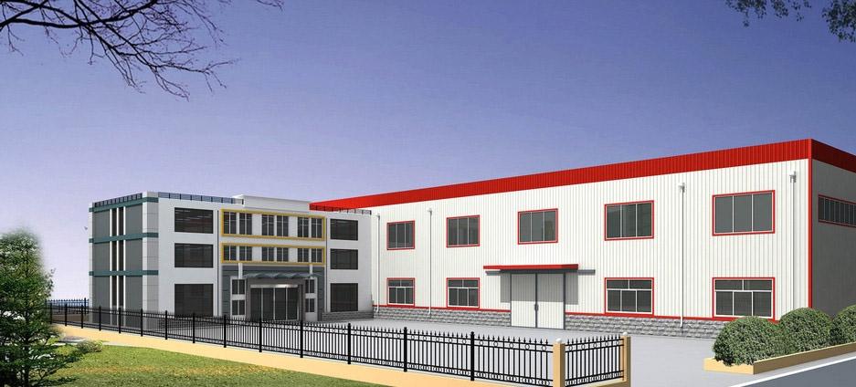 单层工业厂房设计装修效果图