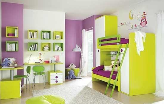 现代简约婴儿房