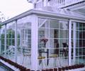 钢化玻璃阳光房装修效果图