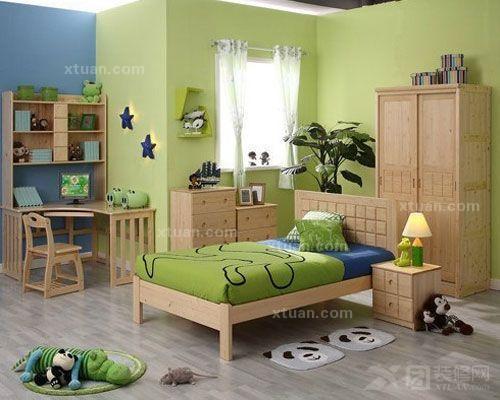实木儿童床图片 价格是多少