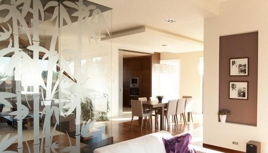 四居室欧式风格客厅隔断