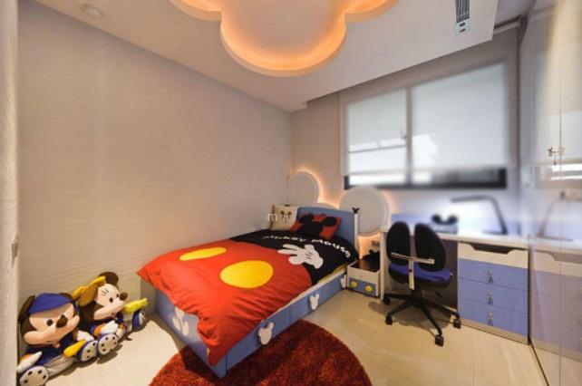 儿童房间装饰装修效果图