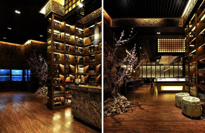 餐饮空间设计说明装修效果图