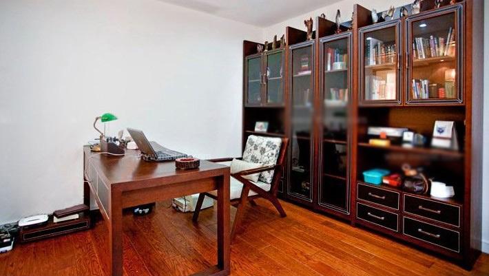 小户型美式风格书房