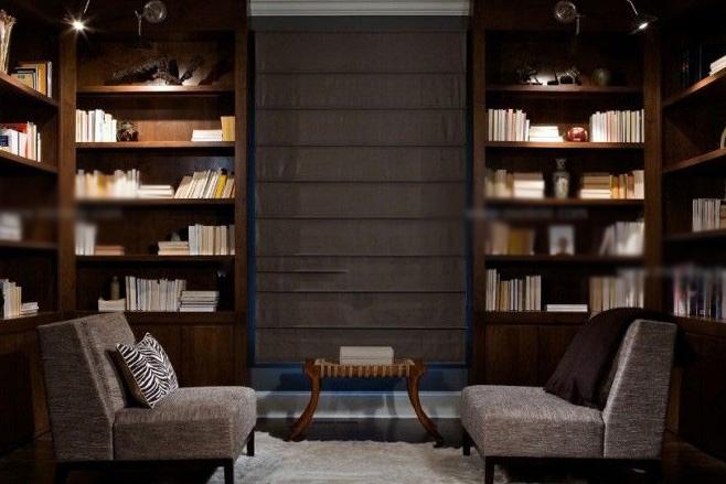 小户型中式风格书房