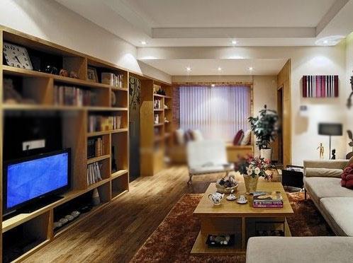 完美的客厅电视柜效果图
