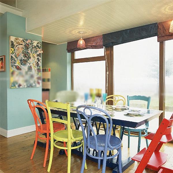 两室一厅混搭风格餐厅