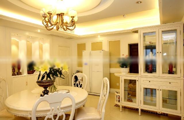 一居室中式风格客厅