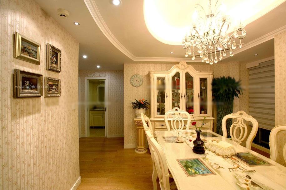 一居室田园风格客厅