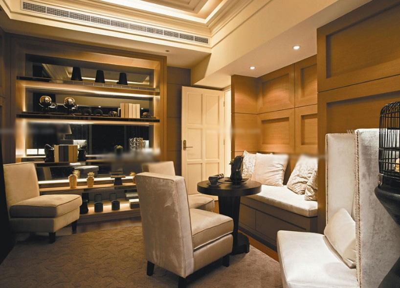 一居室新古典客廳
