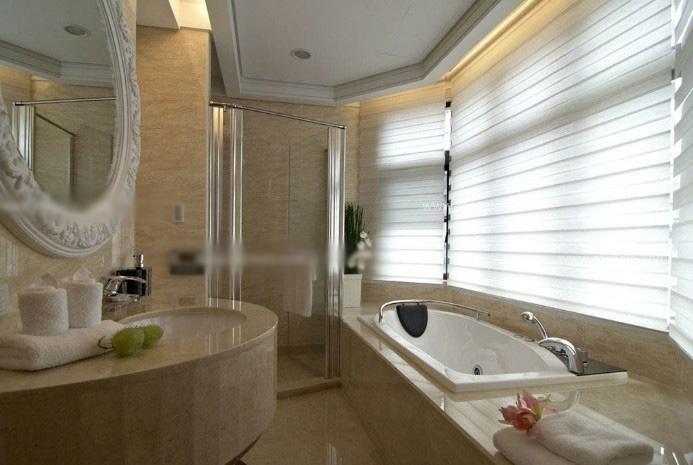 两室一厅新古典卫生间